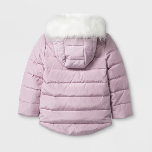 ee8aef602 Toddler Girls  Hello Kitty Down Parka - Pink   Target