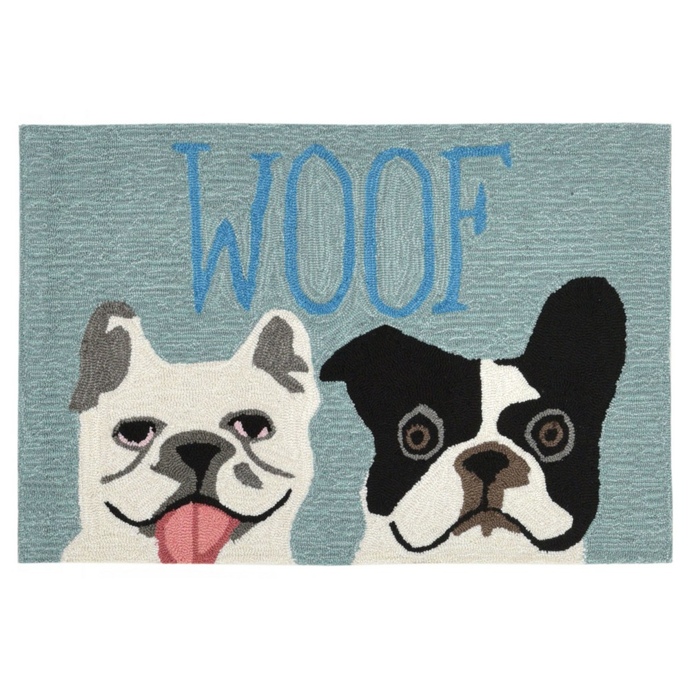 Blue Dogs Tufted Accent Rug 2'X3' - Liora Manne