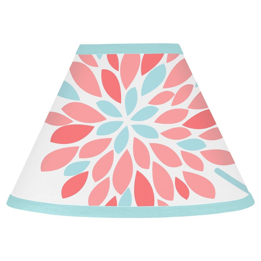 Sweet Jojo Designs Emma Lamp Shade - Coral