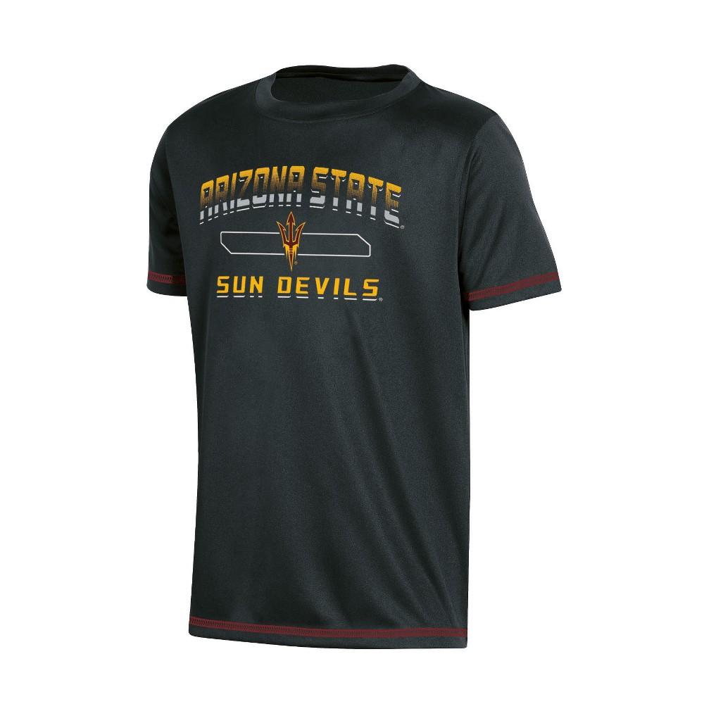 NCAA Boys' Poly T-Shirt Arizona State Sun Devils - S, Multicolored