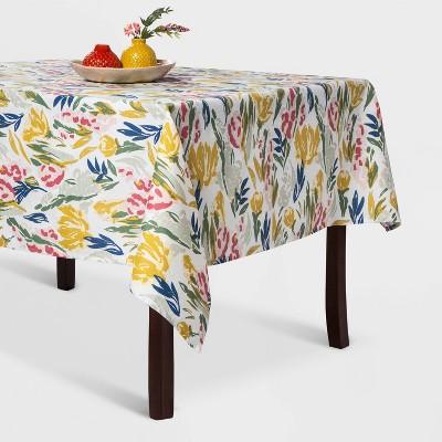 """60""""x104"""" Floral Tablecloth - Opalhouse™"""