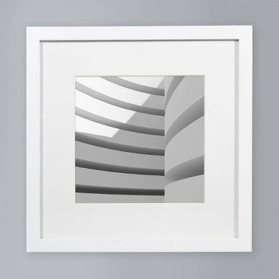 8  x 8  Single Picture Matted Frame White - Made By Design™