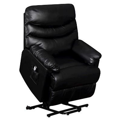 Wall Hugger Convert-a-Couch Renu Leather Power Lift Recliner Chair -  ProLounger