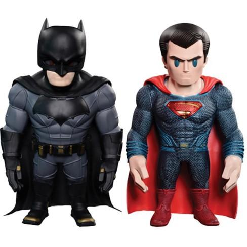 Hot Toys Dawn of Justice Batman & Superman Artist Mix Bobble Head Set - image 1 of 6
