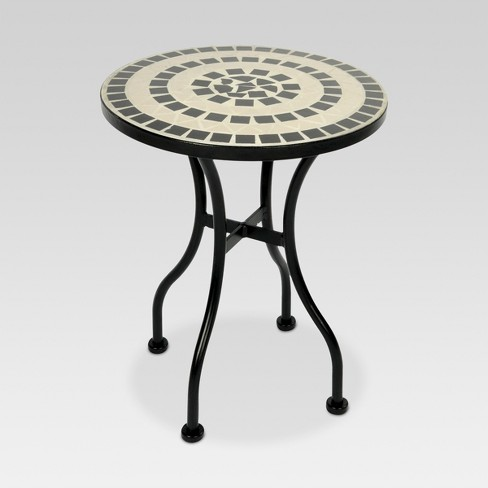 Mosaic Patio Accent Table - Threshold™ - image 1 of 2
