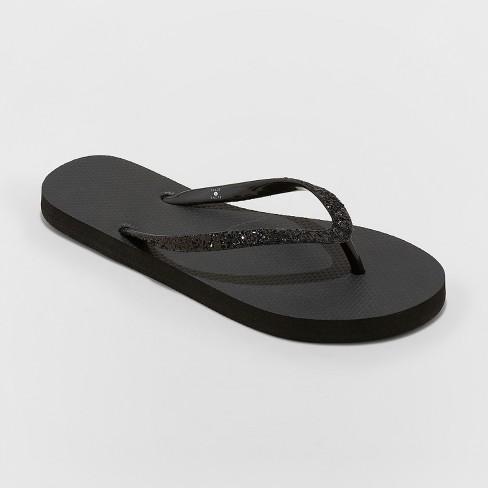 1bda4b26024 Women s Brynn Glitter Flip Flop - Shade   Shore™   Target