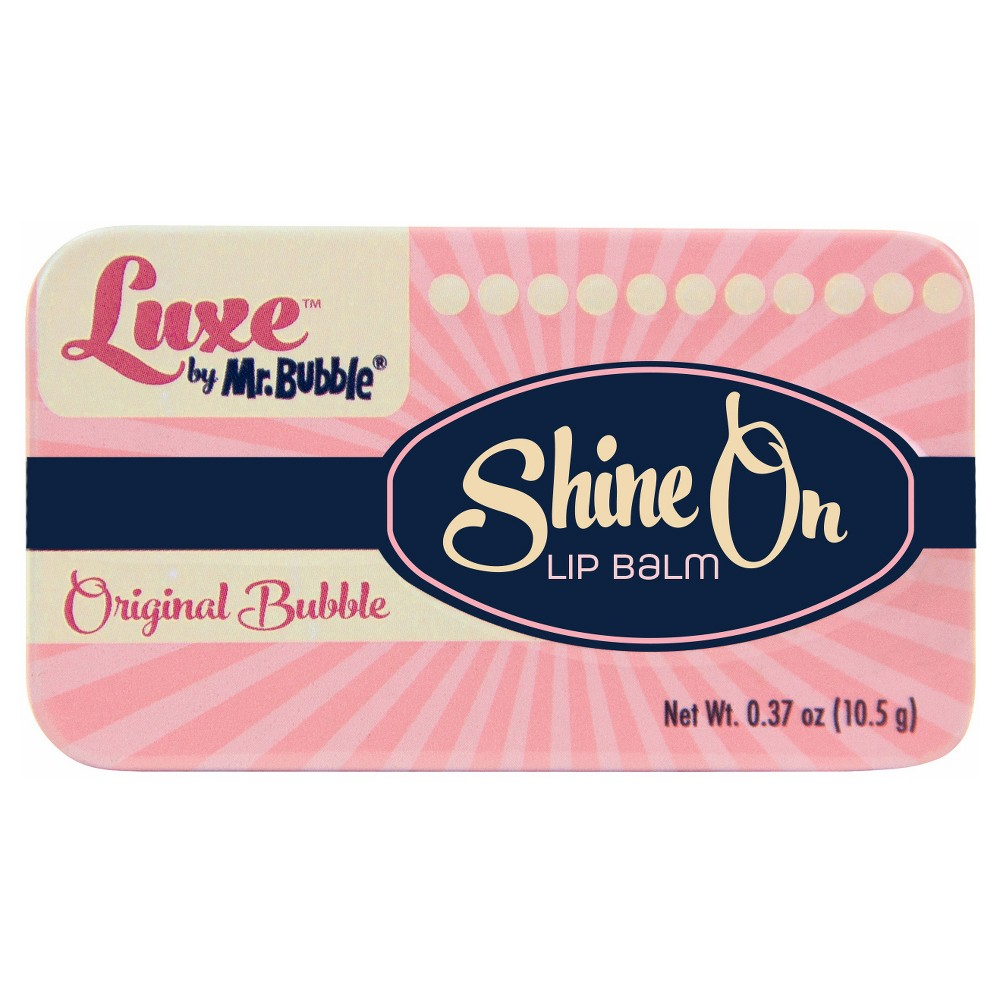 Image of Luxe by Mr. Bubble Original Shine On Lip Balm 0.37oz
