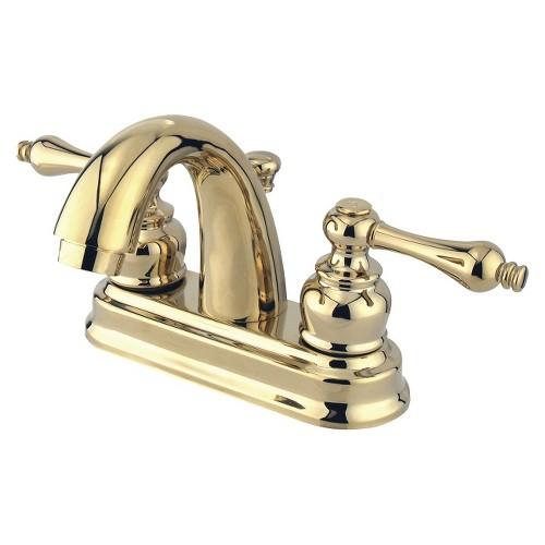 Restoration Classic Bathroom Faucet Polished Brass - Kingston Brass
