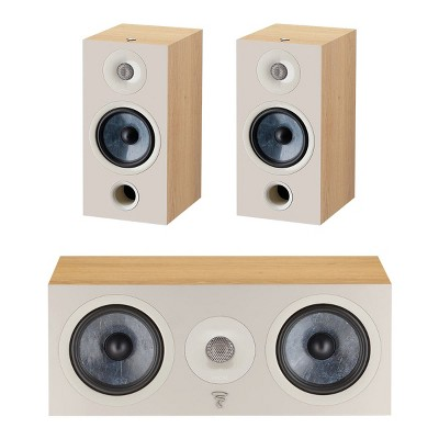 Focal Chora 3.0 Channel Home Theater Speaker Bundle (Light Wood)