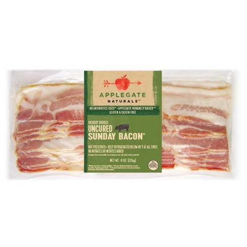 Applegate Naturals Uncured Sunday Bacon - 8oz - image 1 of 1
