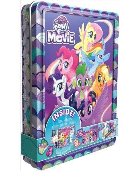 My Little Pony the Movie Collector's Tin (Paperback) - image 1 of 1