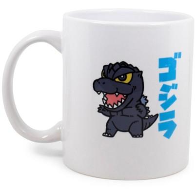 Surreal Entertainment Godzilla Chibi Character Ceramic Mug Exclusive | Holds 11 Ounces