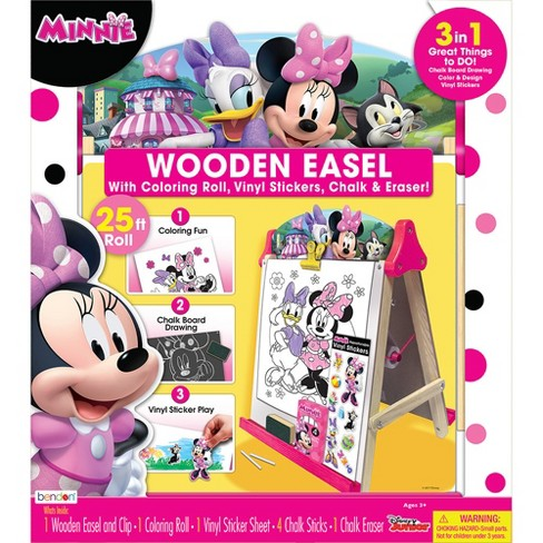 Minnie Mouse Wooden Easel with Accessories - image 1 of 3