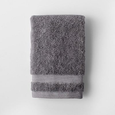 Solid Washcloth Flat Gray - Made By Design™