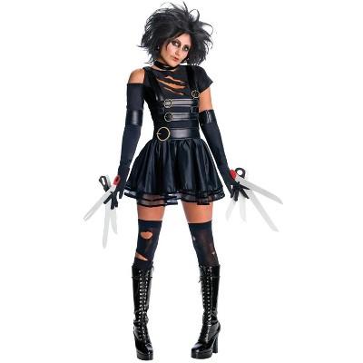 Edward Scissorhands Edward Scissorhands Secret Wishes Miss Scissorhands Adult Costume
