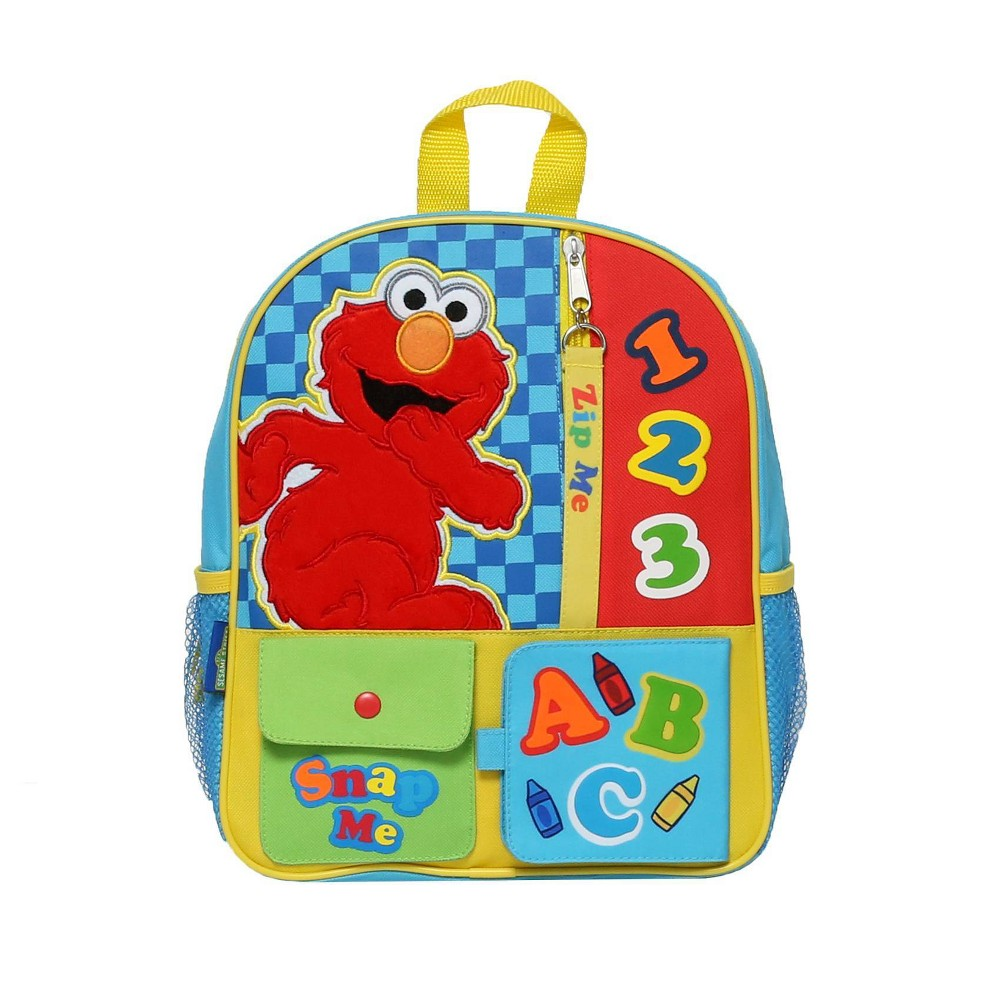 "Image of ""Elmo Interactive 12"""" Kids' Backpack, MultiColored"""
