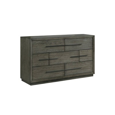 Hollis 7 Drawer Dresser Gray - Picket House Furnishings