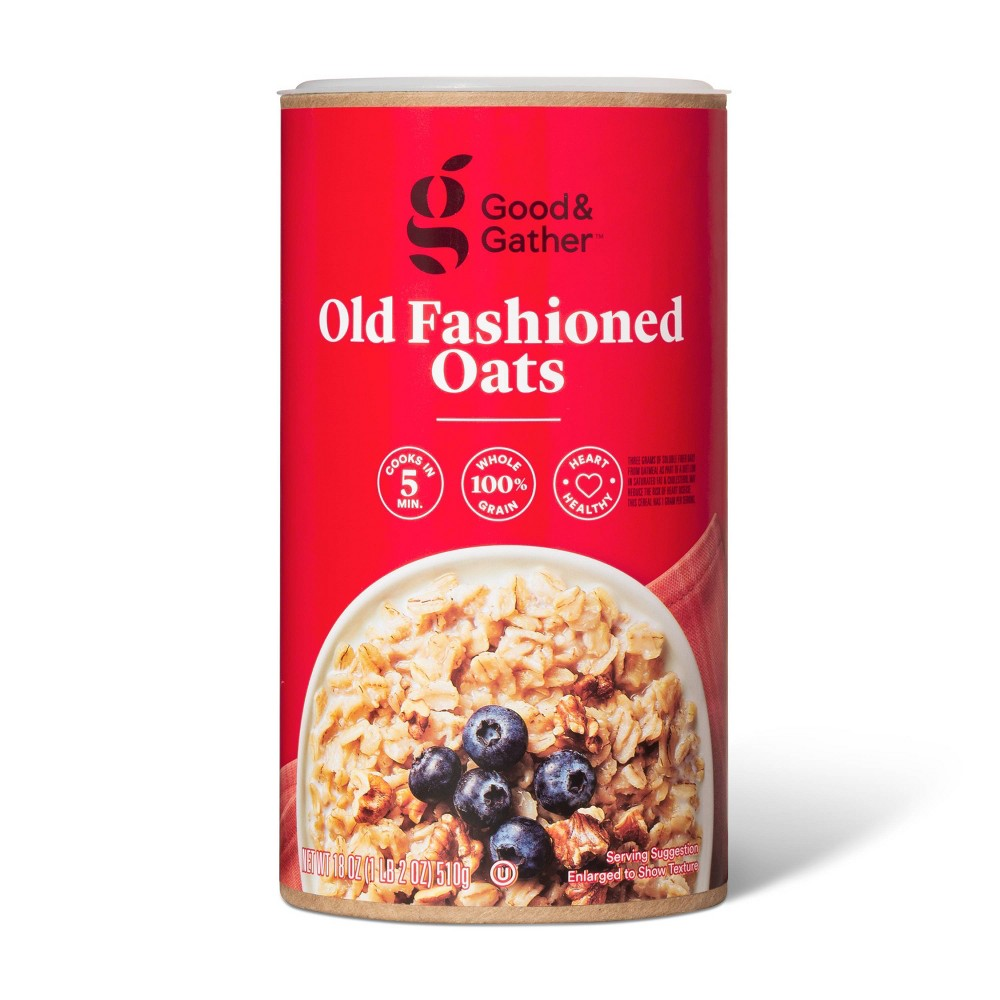 Old Fashioned Oats 18oz Good 38 Gather 8482
