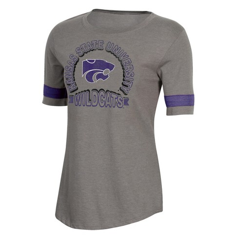 NCAA Women's Short Sleeve Scoop Neck T-Shirt Kansas State Wildcats - image 1 of 2