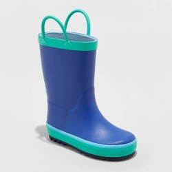 Toddler Boys' Sandy Rain Boots - Cat & Jack™ Navy