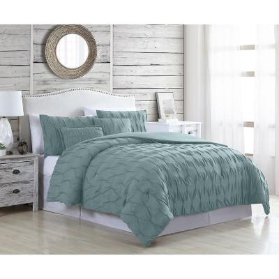 Modern Threads 5-Piece Textured Comforter Set Harper.