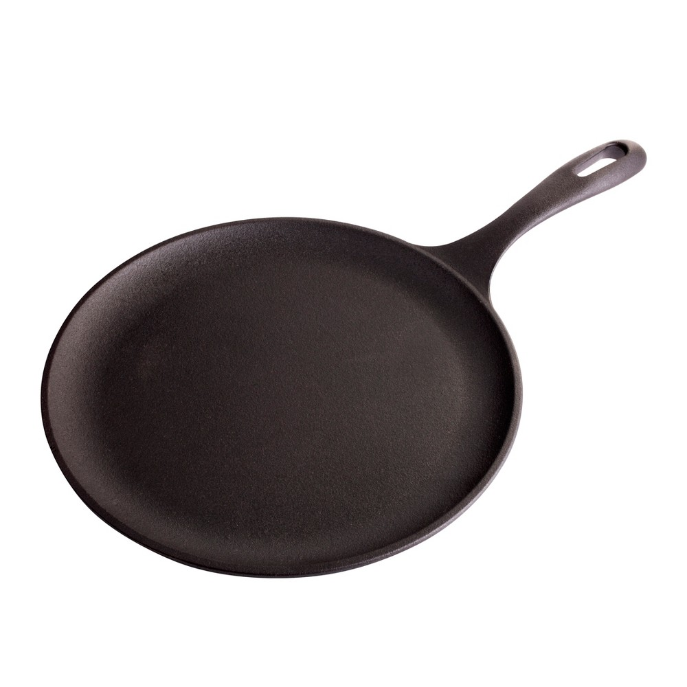 "Image of ""Victoria Preseasoned Cast Iron Griddle/Round Comal - 10.5"""""""