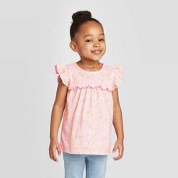 OshKosh B'gosh Toddler Girls' Ditsy Floral Blouse - Pink
