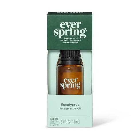 Eucalyptus Pure Essential Oil - 0.5 fl oz - Everspring™ - image 1 of 3