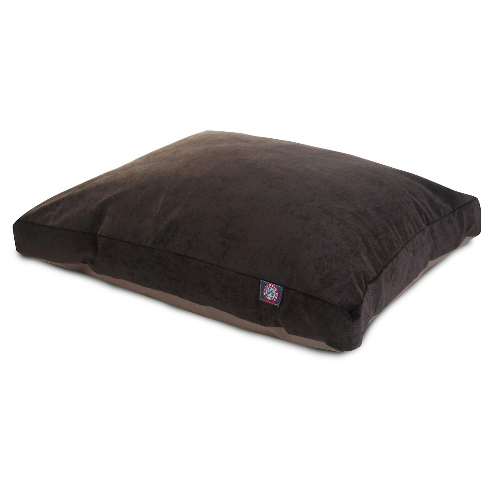 Majestic Pet Villa Collection Rectangle Dog Bed - Storm Brown - Extra Large