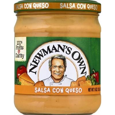 Newman's Own Medium Salsa Con Queso 16oz
