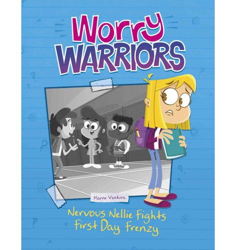 Nervous Nellie Fights First-Day Frenzy (Paperback) (Marne Ventura) - image 1 of 1