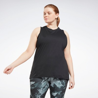 Reebok Workout Ready MYT Muscle Tank Top (Plus Size) Womens Athletic Tank Tops