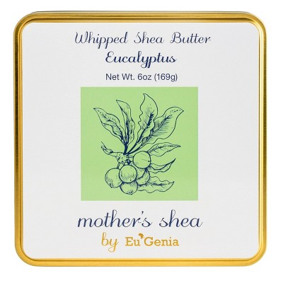 mother's shea Whipped Body Butter - Eucalyptus - 6oz