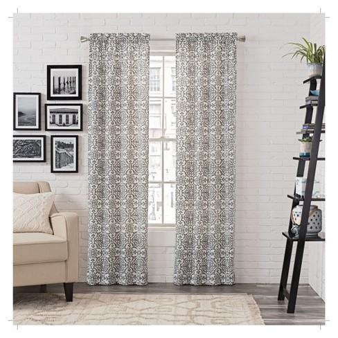 2 Pack Brockwell Curtain Panel Pair - Pairs To Go - image 1 of 1