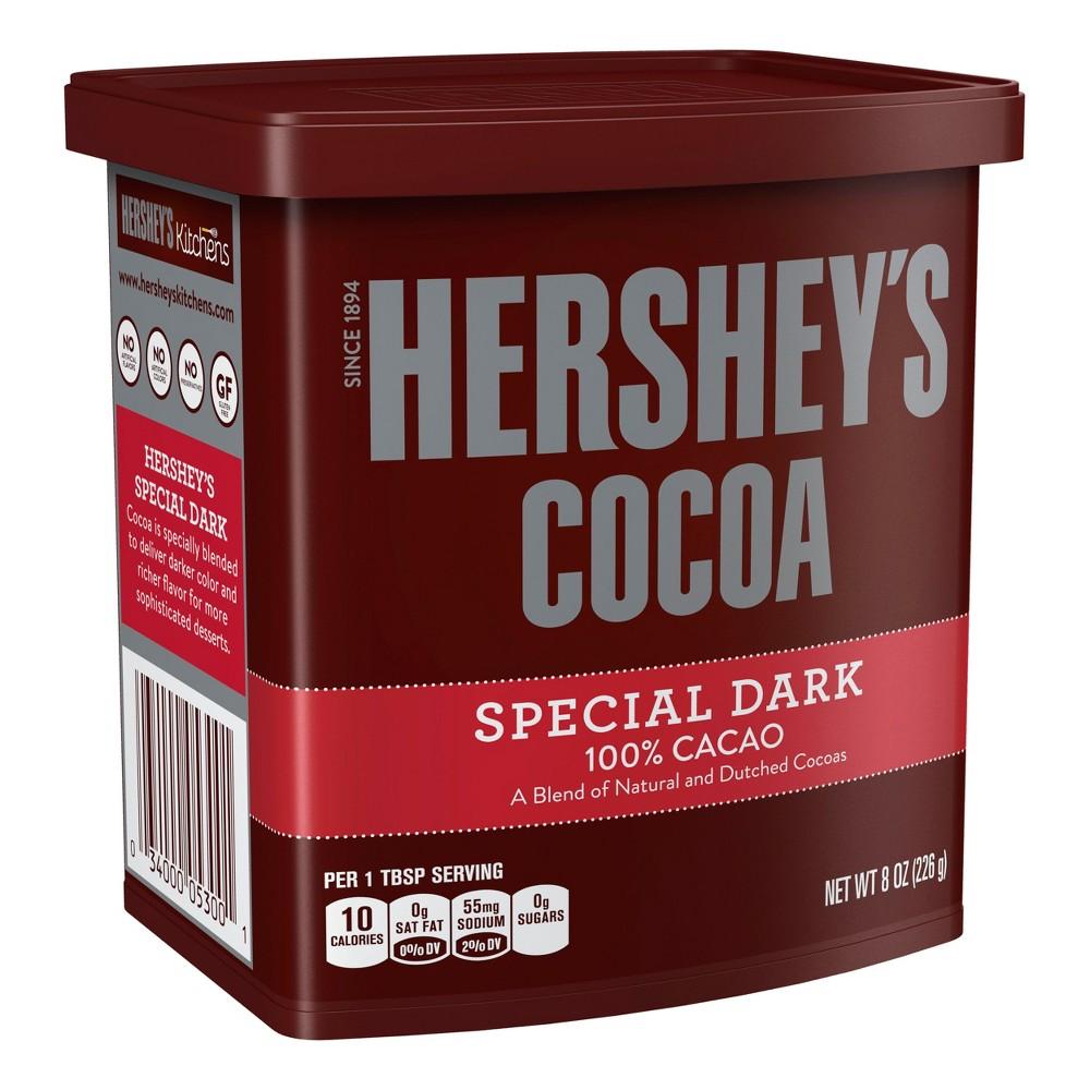 Hershey 39 S Special Dark 100 Cacao Cocoa Powder 8oz