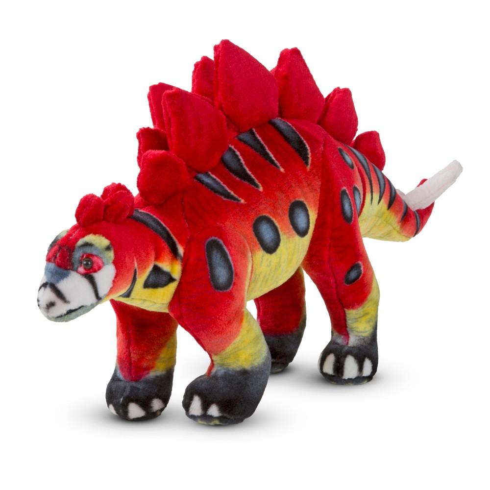 Melissa & Doug Giant Stegosaurus Dinosaur - Lifelike Stuffed Animal
