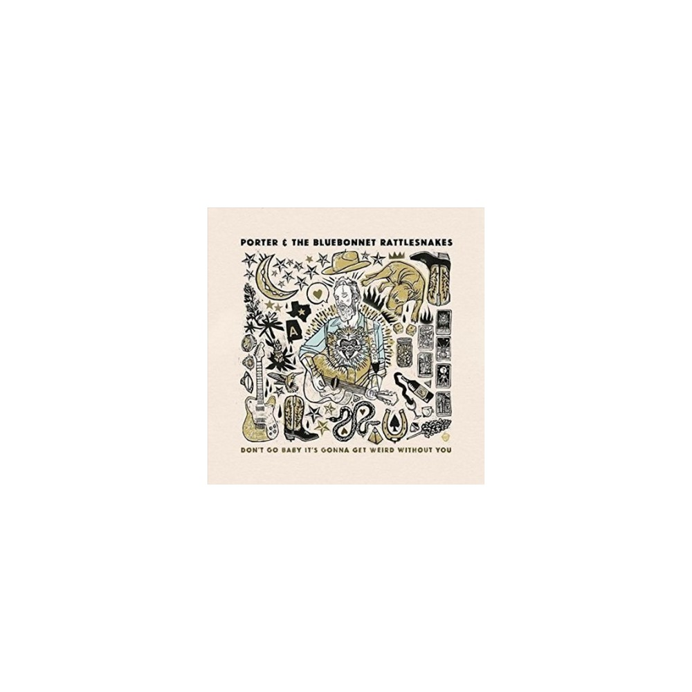 Porter & The Bluebon - Don't Go Baby It's Gonna Get Weird Wi (Vinyl)