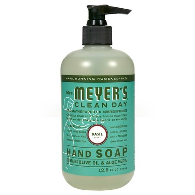 Mrs. Meyer's® Basil Scent Liquid Hand Soap - 12.5 fl oz