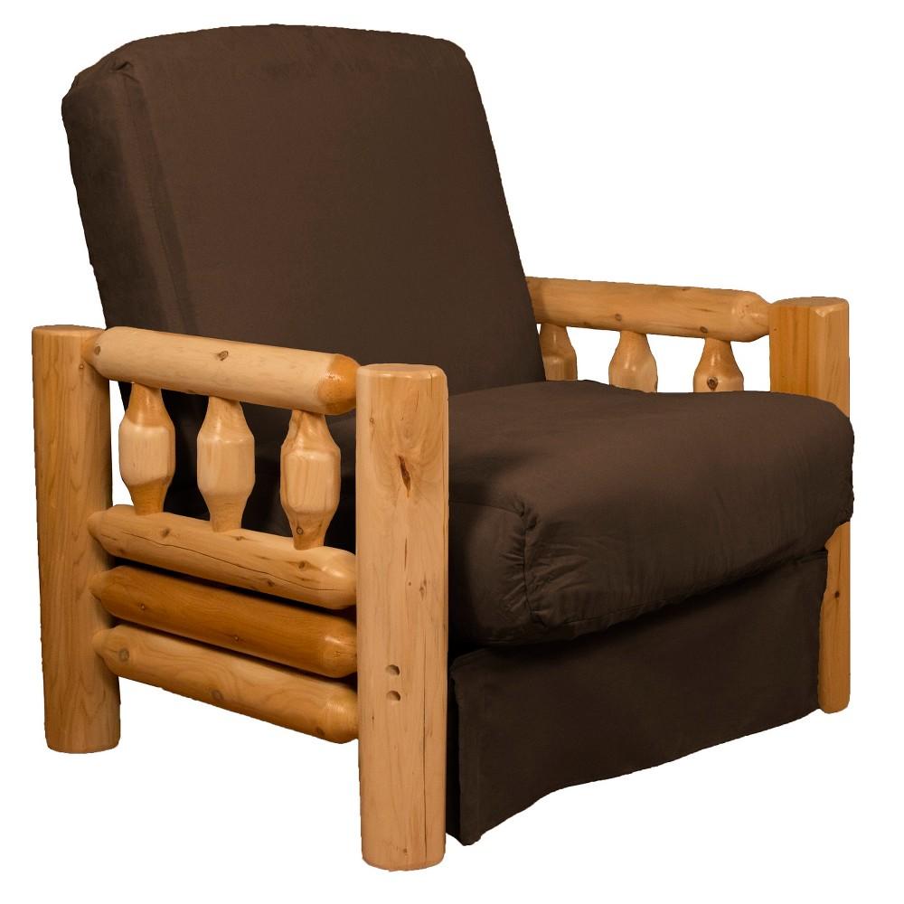Lodge Perfect Futon Sofa Sleeper Espresso Brown - Epic Furnishings
