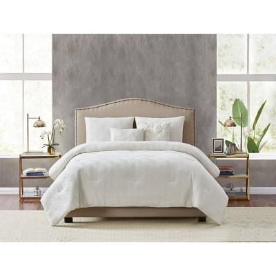 Diamond Clipped Jacquard Comforter Set - Style 212