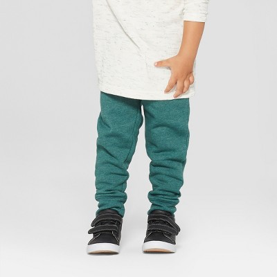 Toddler Boys' Jogger Pants - Cat & Jack™ Green 2T