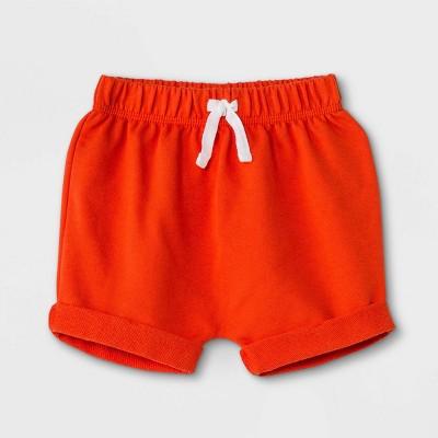Baby Boys' Knit Pull-On Shorts - Cat & Jack™ Dark Orange