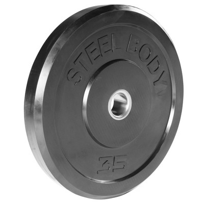 Steelbody Olympic Rubber Plate - 35lbs
