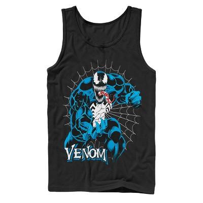 Men's Marvel Venom Retro Web Tank Top