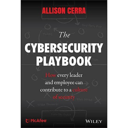The Cybersecurity Playbook - by  Allison Cerra (Hardcover) - image 1 of 1