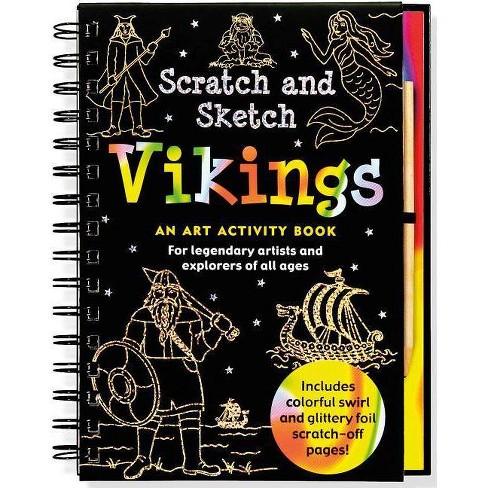Scratch & Sketch Vikings - (Hardcover) - image 1 of 1