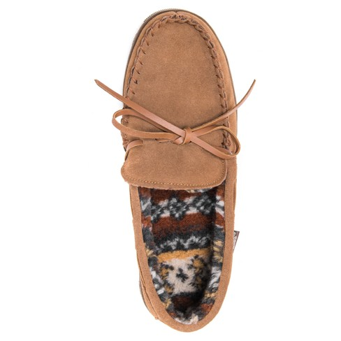 f1c3a8b3d47 Men s MUK LUKS® Berber Suede Moccasin Slippers. Shop all Muk Luks