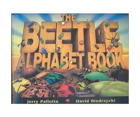 Beetle Alphabet Book (Paperback) (Jerry Pallotta) - image 1 of 1