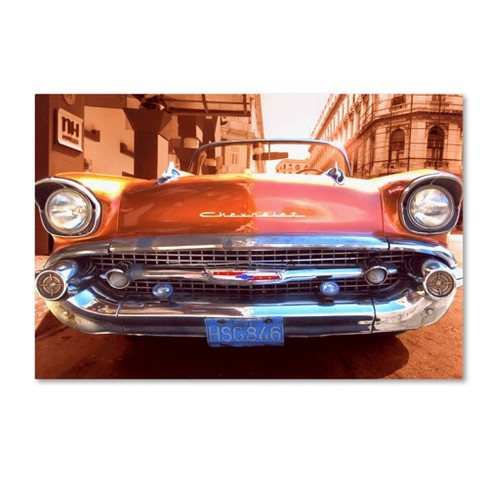 "Trademark Fine Art 32"" x 22"" 1957 Chevy' Canvas Art - image 1 of 1"