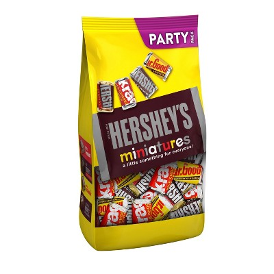 Hershey's Miniatures Halloween Chocolate Candy - 35.9oz